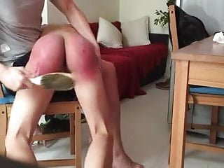 Smooth Twink Gets Otk Chastising With An Increment Of Clean Cmnm